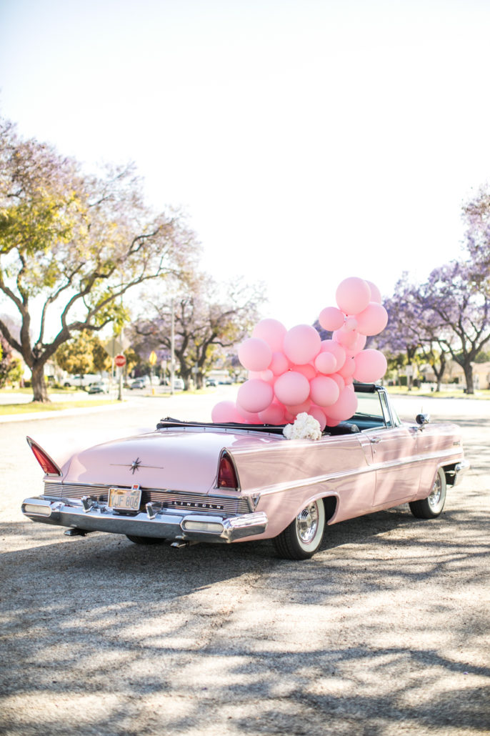 Pink Dream fashion editorial in Los Angeles photographed by Samuel Black