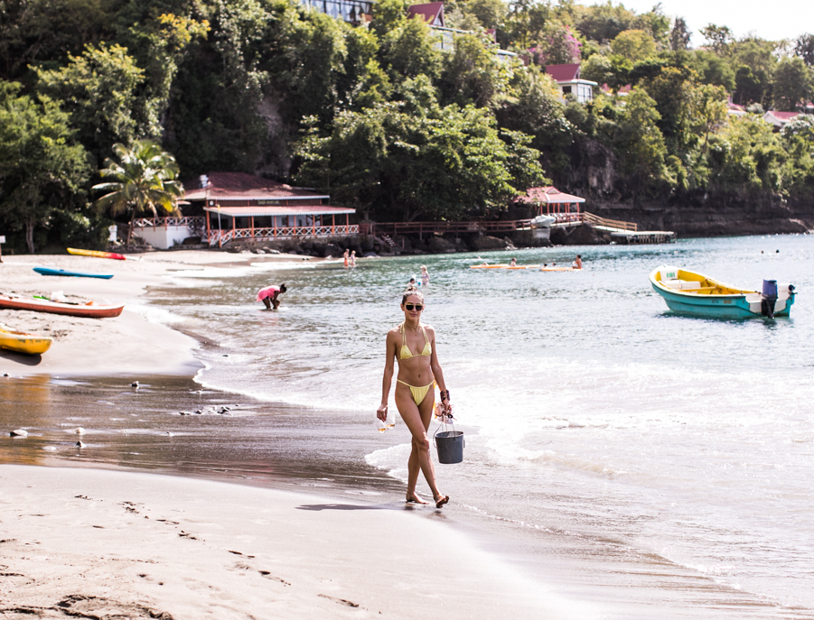 Adventures in St. Lucia photographed by Samuel Black